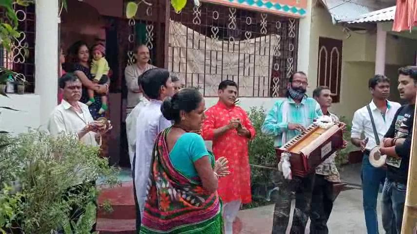 মকরসংক্রান্তির দিনে রাজ্যের বিভিন্ন জায়গায়  নগর কীর্তন